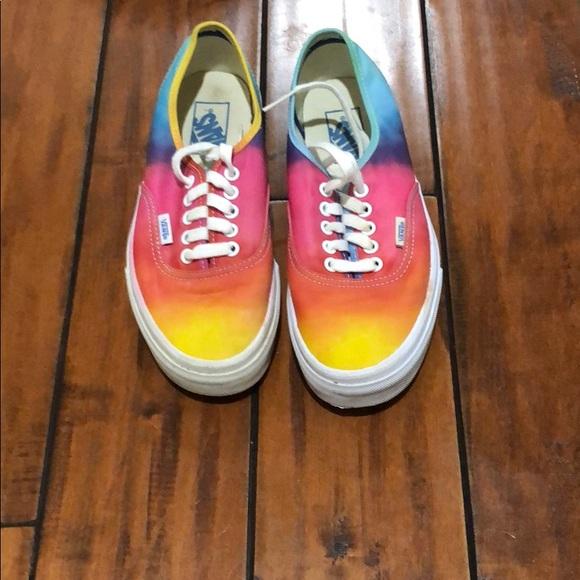 3ad3196143a5bf Vans Shoes - rainbow vans